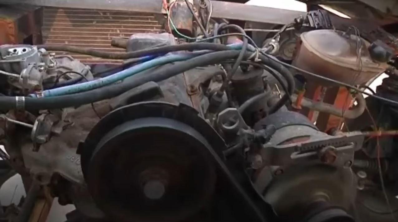 motor Lamborghini Reventon